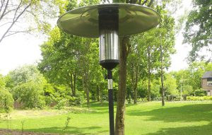 Patio heater 7kw bovenkant