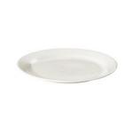 Klassiek bord wit huren 20cm Partytentverhuur Gelderse Vallei